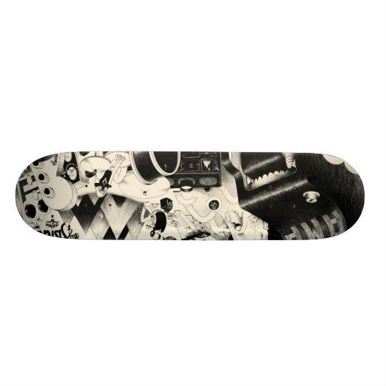 fatigue skateboard deck
