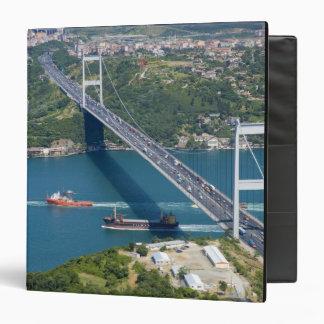 Fatih Sultan Mehmet Bridge over the Bosphorus, Binders