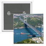 Fatih Sultan Mehmet Bridge over the Bosphorus, Pinback Buttons
