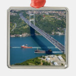 Fatih Sultan Mehmet Bridge over the Bosphorus, Christmas Ornament
