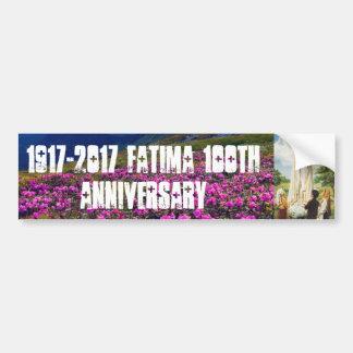 Fatima 100th Anniversary Bumper Sticker