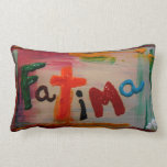 fatima abstract pillows