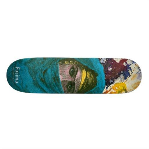 Fatima by Michael Moffa Skateboard Deck