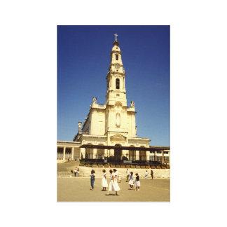 Fatima Church Portugal Gallery Wrap Canvas