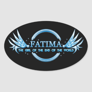 Fatima the girl of the end of the world sticker