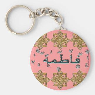 Fatimah Fatema arabic names Keychains