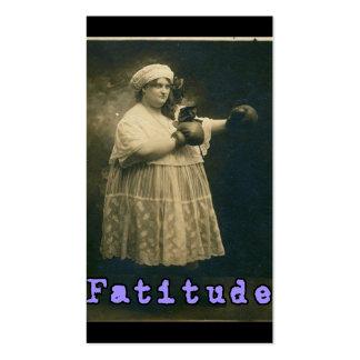 Fatitude Business Card