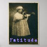 Fatitude! Poster