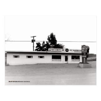 Fat's Drive-In Post Cards