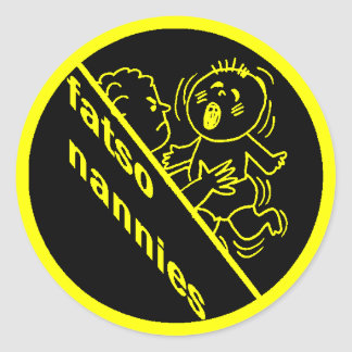 Fatso Nannies Logo Sticker