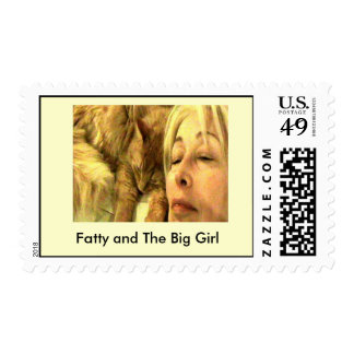 Fatty and The Big Girl Stamp