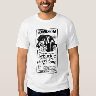 Fatty Arbuckle 1921 film advertisement money Shirt