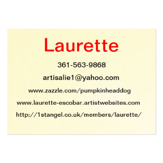 Fatty BC Large Business Card