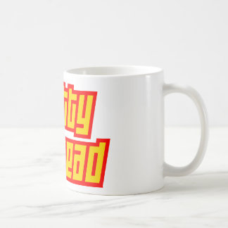 Fatty Fathead Classic White Coffee Mug