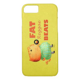 Fatty Fatty Fat Reggae Cat iPhone 8/7 Case