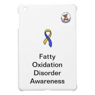 Fatty Oxidation Disorder Awareness iPad Mini Cover