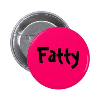 Fatty Pinback Button