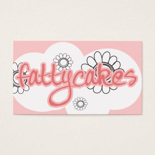 FATTYCAKES BUSINESS CARD