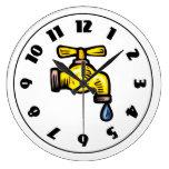 Faucet Clock