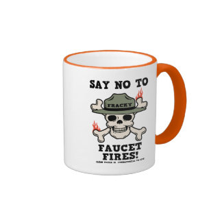 Faucet Fires Mugs