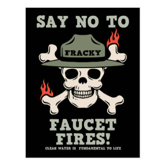 Faucet Fires Postcard