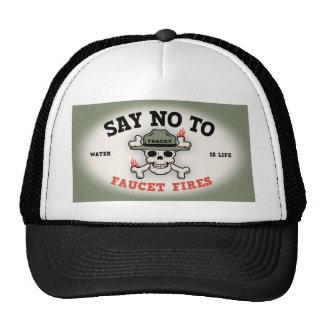 Faucet Fires Trucker Hat
