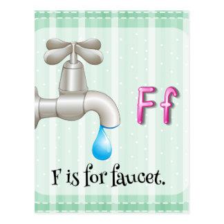 Faucet Postcard