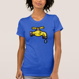 Faucet Womens T-Shirt