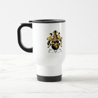 Faul Family Crest 15 Oz Stainless Steel Travel Mug