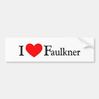 Faulkner Pegatina Para Auto