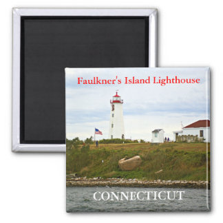 Faulkner's Island Lighthouse, Connecticut Magnet