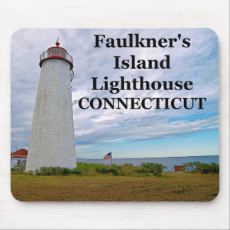 Faulkner's Island Lighthouse, Connecticut Mousepad