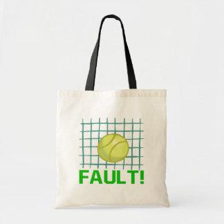 Fault Budget Tote Bag