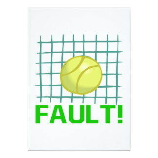 Fault Card