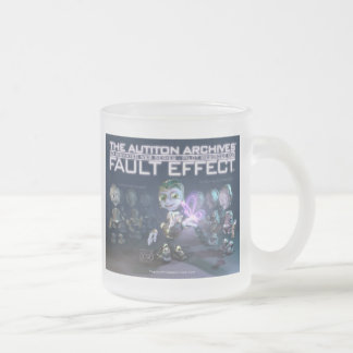 Fault Effect™ Frosted Glass Mug