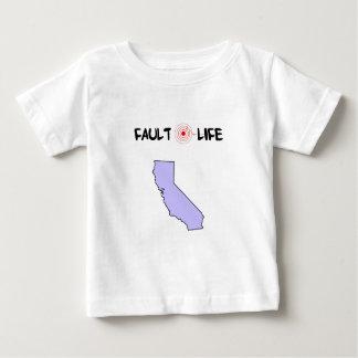 Fault Life California Earthquake Lifestyle Infant T-shirt