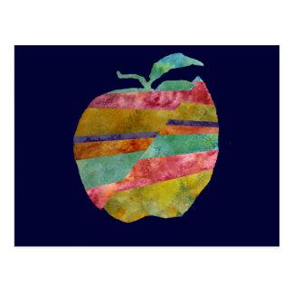 Fault line Apple Postcard