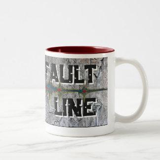 Fault Line Two-Tone Coffee Mug