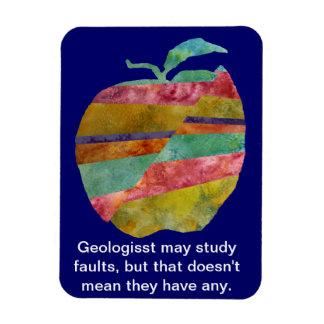 Faultless Geologist Apple Magnet