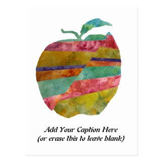 Faultline Apple con el texto adaptable Postal