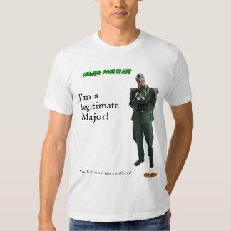¡Faultline importante - soy un comandante Remeras