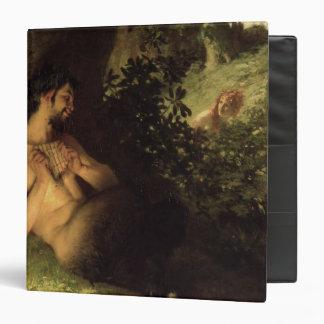 Faun and Nymph, 1868 3 Ring Binder