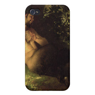 Faun and Nymph, 1868 iPhone 4 Cases