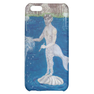 Faun in a Fountain Forest iPhone 5C Cover