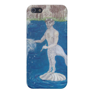 Faun in a Fountain Forest Covers For iPhone 5