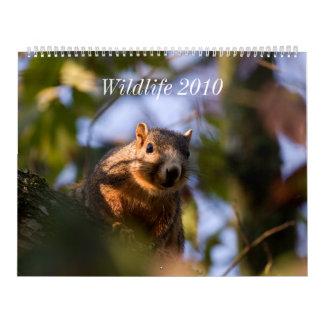 Fauna 2010 calendario de pared