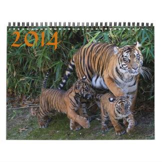 Fauna 2014 calendario de pared