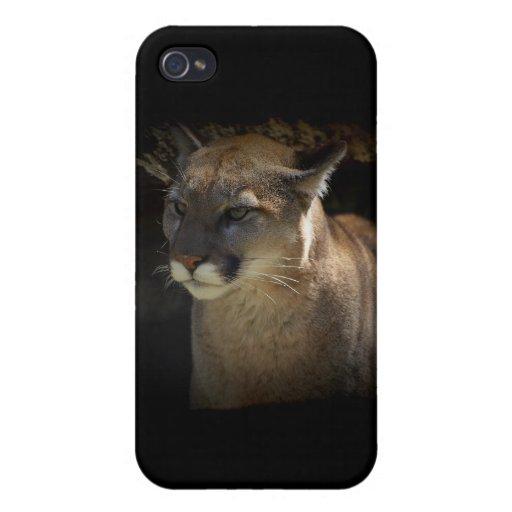 Fauna-amantes del puma del león de montaña iPhone 4/4S carcasa
