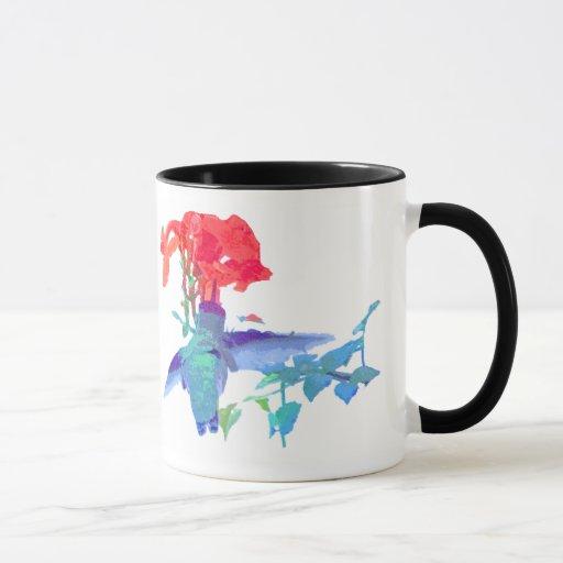 fauna animal del pájaro del colibrí floral taza