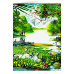 Fauna avícola - tarjeta